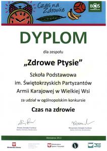 Dyplom - Zdrowe Ptysie