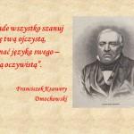 hańbą oczywistą . Franciszek Ksawery. Dmochowski.
